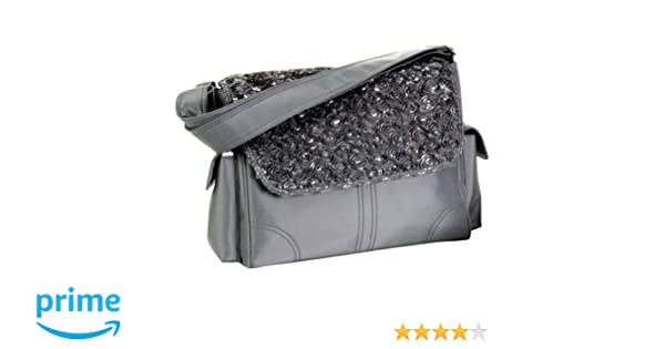 Kalencom Fashion Diaper Bag Mommy Bag Nappy Bag Melissa Rosebuds Silver Changing Bag
