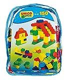 Unico Plus Rucksack mit 150 Bausteinen 2 Grundplatten