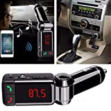Ceuta Retails® Universal Bluetooth Car Charger with Dual USB Charging Port (5V 2.1A)