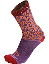 Darn Tough Vermont Damen Spiralen Crew Light Cushion Wandern Socken