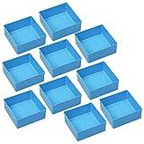 10 Einsatzboxen Allit EuroPlus Insert 45/1 45/2 45/3 45/4 45/5 Industrienorm (Gr. 3 Blau)