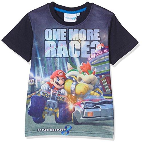 Super Mario Bros Chicos Camiseta manga corta - Azul marino - 134