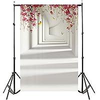 fotografía accesorios, Sannysis fotografía de producto bebe fotografía accesorios prop fotografía estudio Telón de fondo de madera del piso de la pared del vinilo Fondo de fotografía