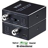 Tendak Optische SPDIF Toslink zu Koaxial or Koaxial zu Optische SPDIF Toslink Digital Audio Converter