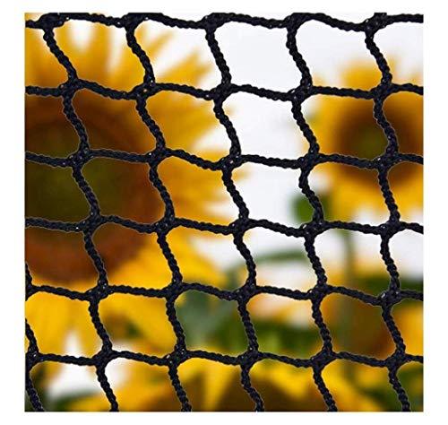 Safety Net Katze, Netz, Seil Kinder Balkon Schwarz Volleyball Schutznetze Treppen Im Freien Nylon Golf Badminton Sicherheit Handballtor Tor Fußball-Katzen Bebten Schutzgitter (Size : 1x6m)