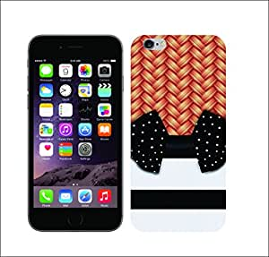 Galaxy Printed 1737 Chick Wicker stripes dot Hard Cover for Apple iPhone 4