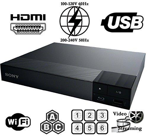 Sony BDP-S3700 Lecteur Multi Zone Region Code Free