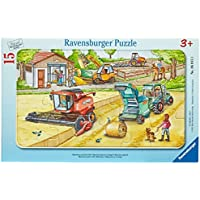 "Ravensburger 06015 3 ""Machines On The Field"" Puzzle"