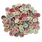 Description: Material:Wood Color:Coloful Diameter of the buttons:Approx.15mm Beautiful wooden painted buttons are in rich colors Suitable for all types of craft:sewing, crafting, decoration, DIY, dress, etc. Package Includes: 100 x Wooden Painted But...