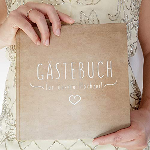 Blanko Hardcover Gästebuch - 3