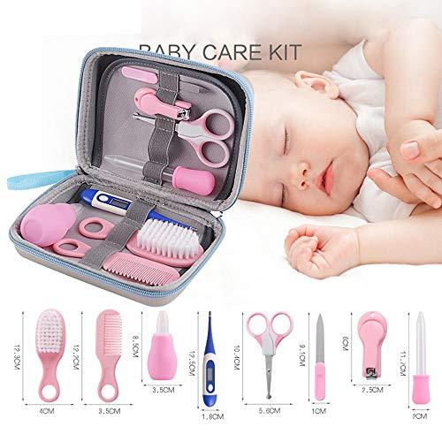 8 Stücke Baby Nagelknipser Set Neugeborenen Nagelknipser Trimmer Maniküre Haar Thermometer Sicherheit Schere Nagelpflege Anzug Babypflege