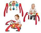 Winfun 3in1 Babytrainer Spielbogen Activity Center Lerntisch mitwachsend mit Sound