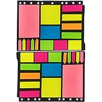 Del - 750 Notas Autoadhesivas - Formas y Colores Variados