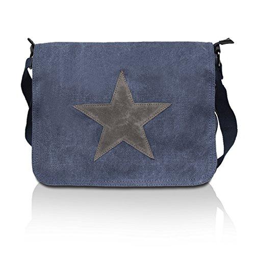 Glamexx24 Tasche Handtaschen Schultertasche Umhängetasche mit Stern Muster Tragetasche TE201620