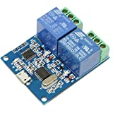 Morza LCU-2 5V USB-Relay-Modul USB Intelligent Control Switch Elektronischer Konverter PCB Relaismodul