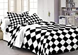 Cenizas 100% Cotton Double Bedsheet With...