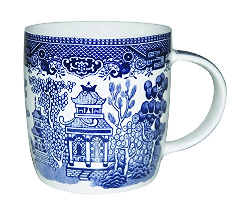 Churchill Geschirr Becher 11 oz Blue Willow -