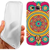 CUSTODIA COVER CASE COLOR MANDALA PER SAMSUNG GALAXY TREND PLUS S7580