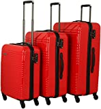 travelite Groovy 4-Rad Trolley-Set 3-tlg marine