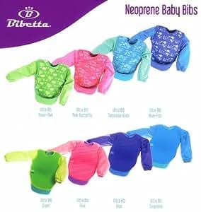 Bibetta Biberon en néoprène avec manches pour bébé Turquoise