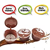 I Cafilas réutilisable capsules Dolce Gusto Espresso Crema recharge dosettes de...