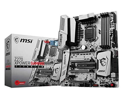 MSI Intel Z270 Xpower Gaming Titanium 7th/6th Gen USB2 Motherboard