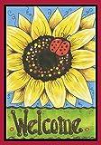 Toland Home Garden Sonnenblumen-Lady, Bunt
