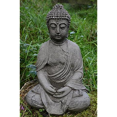 Meditazione Buddha in Pietra ornamentale da giardino/Statua/Scultura