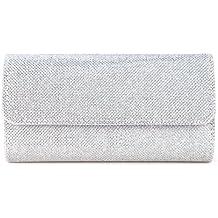 Glitter Damen Tasche Mädchen Clutch Bag Handtasche Party Hochzeit Abendtasche Kettentasche Umhängetasche glitzernd