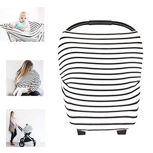 multi-usages Coton Bio d'allaitement allaitement Coque auto pour bébé Housse de protection pour auvent Shopping Cart Housse Nid d'ange pour bébé nouveau-né tout-petits Douche Cadeau