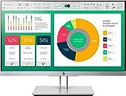 HP EliteDisplay E223 - Monitor de 21.5 pulgadas ajustable en altura (FHD antireflejo, 1920 x 1080 a 60 Hz, IPS