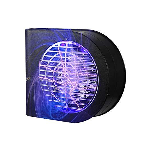 KFRSQ Mückenschutz Elektrische Fliegenklatsche Fliegenfalle Insektenvernichter Mückenfalle LED Mückenvernichter Home Mute elektronische Mückenvernichter Mückenschutz (24 × 20 × 6,8 cm)