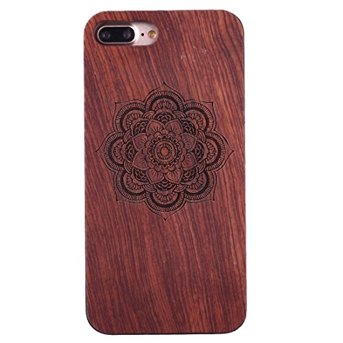 iPhone Case Cover Pour iPhone 7 Plus Sculpture Artistique Rosewood + PC Bordure Étui de protection arrière ( SKU : Ip7p1451x ) Ip7p1451e