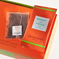 Dammann Frères - Thé Rooibos VANILLE - 24 sachets individuels