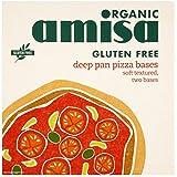 Bases amisa Orgánica Sin Gluten Deep Pan Pizza 2 x 130 g