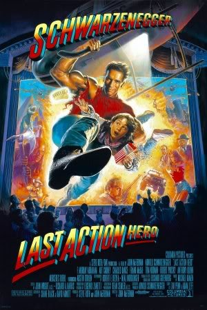 LAST ACTION HERO - ARNOLD SCHWARZENEGGER – Imported Movie Wall Poster Print – 30CM X 43CM