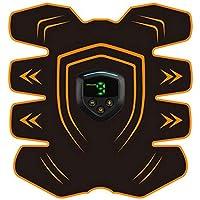 XDXDO Ccsme Abdominal estimulador Muscular USB Recargable Abs Trainer - Inicio del Entrenamiento de la Aptitud del Dispositivo para Hombres y Mujeres