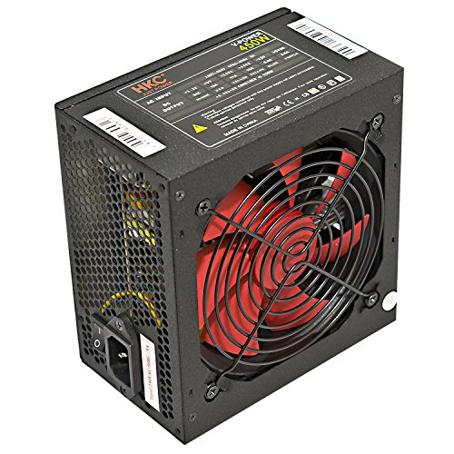 HKC® V-POWER 450 Watt ATX PC-Net...