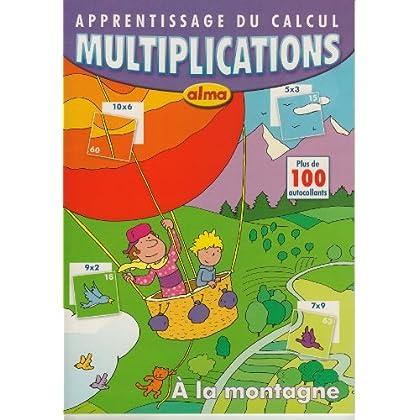 Apprentissage du calcul : Multiplication