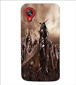 PRINTSWAG DEVILS Designer Back Cover Case for LG GOOGLE NEXUS 5