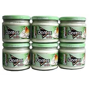 Walkers Doritos crème fraîche et ciboulette Sour Dip (300g) - Paquet de 6