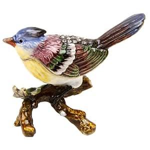 Treasured Trinkets Bird On Branch Trinket Box