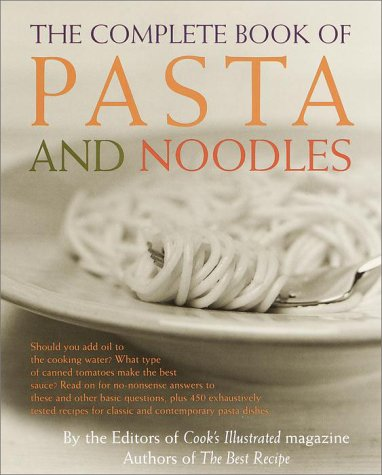 eBook The Complete Book of Pasta and Noodles