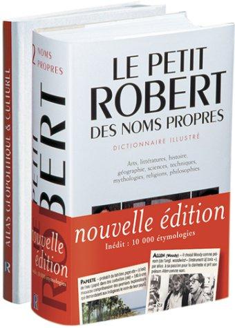 Coffret Petit Robert des noms propres 2004 et Atlas par Collectif