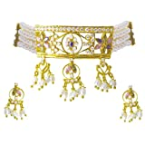 Sri Jagdamba Pearls Jpealrs Tremendous Chocker Pearl Set