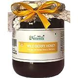 Farm Naturelle-Virgin Raw Natural Unprocessed Wild Berry (Sidr) Forest Flower Honey - 700 Grams Glass Jar