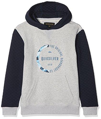 Quiksilver BUNDSYHOODYYTH B OTLR BYJ0 Sweat à Capuche Garçon, Navy Blazer-Solid, FR : L (Taille Fabricant : L/14)