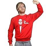 TheMonsterFrankensteinHalloweenSweatshirtRED M Red