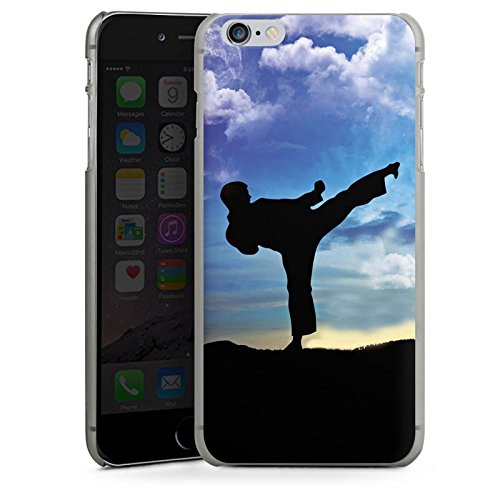 Apple iPhone 4 Housse Étui Silicone Coque Protection Karaté Sport de combat Entraînement CasDur anthracite clair