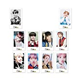 hjfgy Rational 10 Stück/Set Kpop BTS Lomo Karten Selbstgemachte LOMO Karte Fotokarte in feinem Stil...